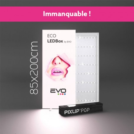 ECO LedBox 85cmX200cm