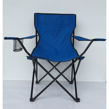impression Siège Camping Evotente bleu