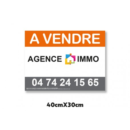 panneau publicitaire akilux 3,5mm texture alvéolé en 30x40