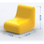 Fauteuil Gonflable S-Kimo personnalisable