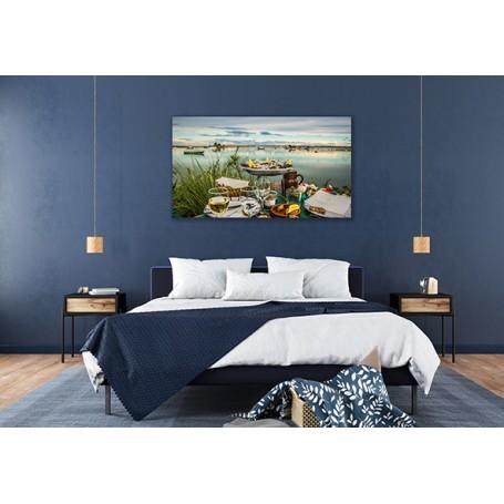 Tableau en PVC 10mm avec un contrecollage mat anti-reflet personnalisé. Idée décoration maison.