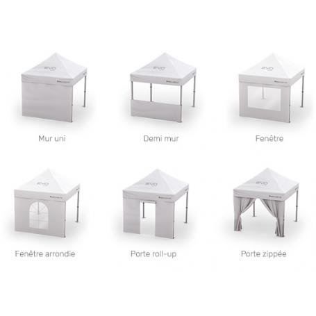 copy of Mur pour tente 3X3