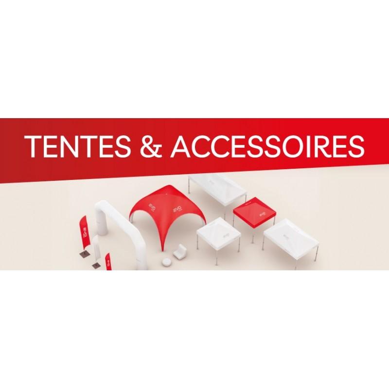 Tente publicitaire pliante ou gonflable et accessoires au meilleur prix
