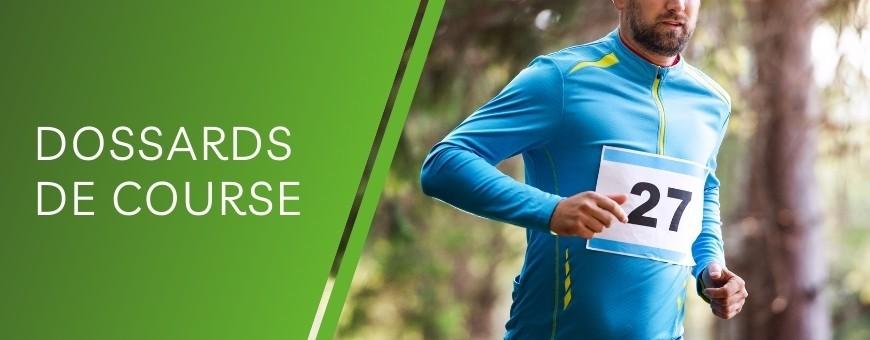 Dossard de course personnalisable : Commandez en ligne vos dossards de course à pieds