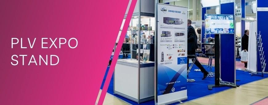 Kakémono, roll-up, mur d'image pliant, photocall, PLV personnalisable pas chère sur Evoprint.fr