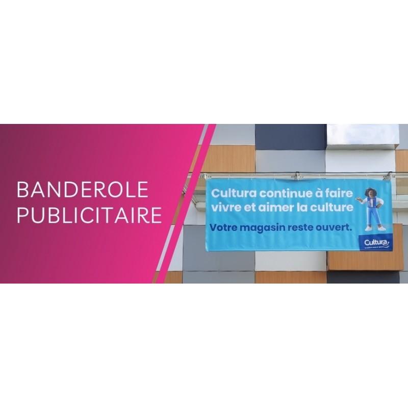 Banderole personnalisée : Bache PVC, banderole decolit 100% personnalisable